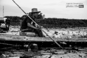 A Boatman at Lake Songkhla by Siew Bee Lim