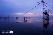 Dawn at Lake Songkhla by Siew Bee Lim
