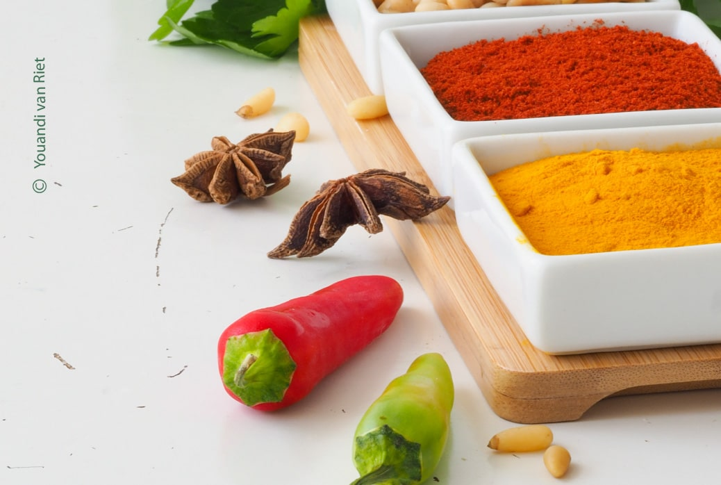 Colourful Spices by Youandi van Riet