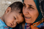 Mother and Her Son by Fatemeh Tajik
