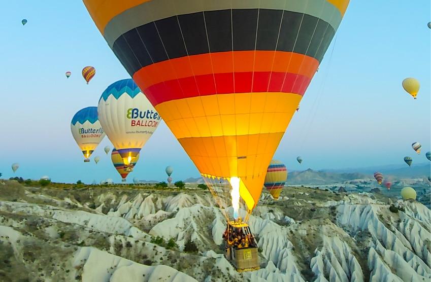 Cappadocia Balloon by Cristina del Fresno