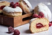 Sweet Raspberry Donuts by Keshia Sophia