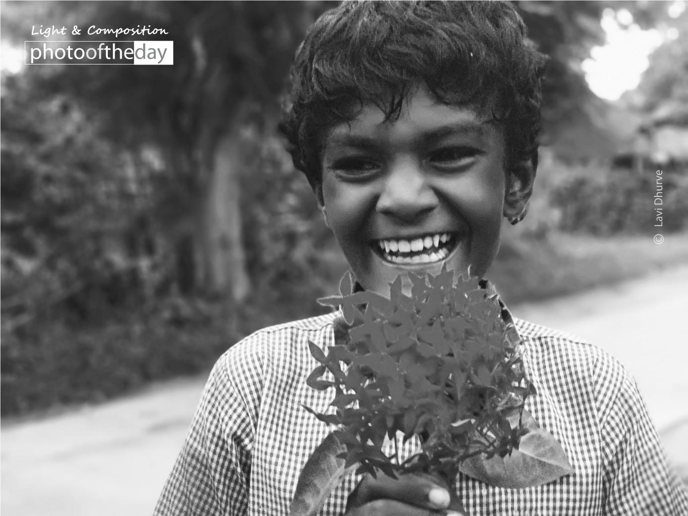 Joyous Face by Lavi Dhurve