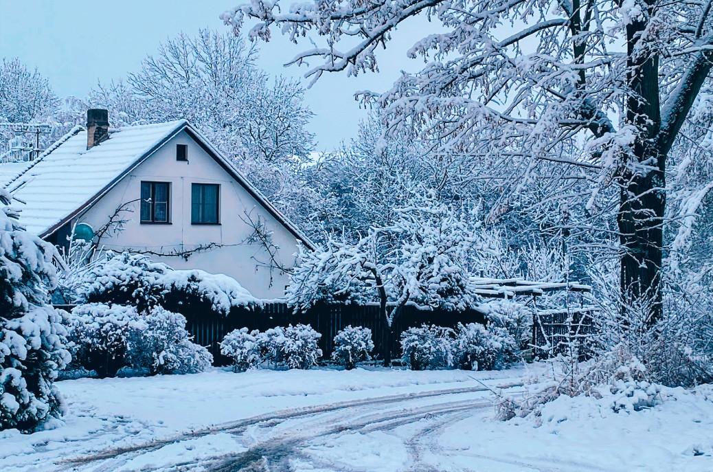 Winter in the Czech Republic by Mirka Krivankova